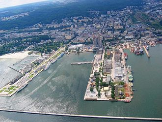 Pomeranian Voivodeship - Gdynia, one of Poland's three major seaports