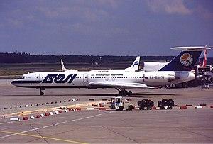Überlingen mid-air collision - Image: Bashkirian Airlines Tupolev Tu 154M Kv W 1