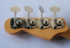Headstock - Bass guitar headstock