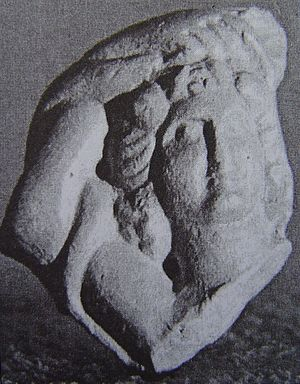 Zemun - Relief of a maenad,  found in Zemun