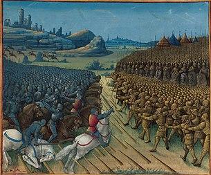 Bataille de Nicopolis (Archives B.N.) 1