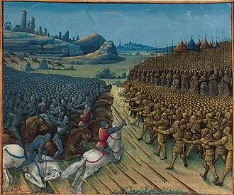 Ottoman–Habsburg wars - Battle of Nicopolis (1396)