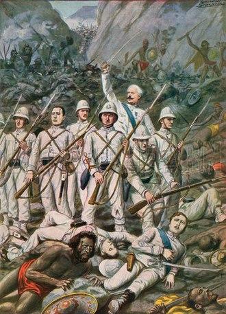 Battle of Dogali - Battle of Dogali, 1887