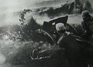 Siping, Jilin - Communist troops in the Battle of Siping.