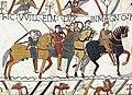 Нормандское вторжение в Англию. Фрагмент ковра из Байё, конец XI века