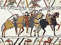 Slag van Hastings, soos uitgebeeld in die Bayeux Tapisserie