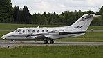 Beechcraft 400A Beechjet, Ital Fly JP6554003 (cropped 16-9).jpg