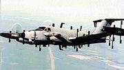 Beechcraft RC-12N Huron in flight