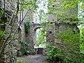 """Beim 366 km langen Neckartalradweg, Neckarburg, 793 Die """"Nehhepurc"""" wird erstmals im Besitz des Klosters St. Gallen erwähnt - 1275, Die Neckarburg erscheint mit eigener Pfarrkiche und eigenem Geistlichlen - 1589, Die Sp - panoramio (3).jpg"""