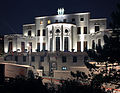 Belgrade. Night view of the France Embassy.jpg