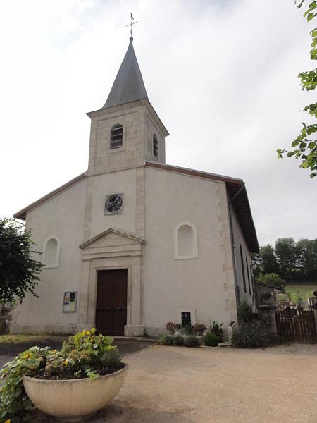 Belrupt-en-Verdunois (Meuse) église extérieur