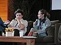 Benh Zeitlin y Marialy Rivas.jpg