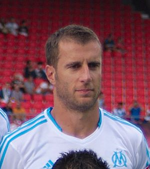Benoît Cheyrou - Cheyrou playing with Marseille in 2013