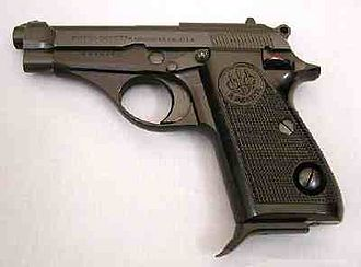 """Barry Prudom - Beretta """"Jaguar"""" of the type used by Prudom"""