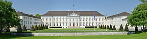 Bellevue Palace (Germany) - Image: Berlin Schloss Bellevue 2