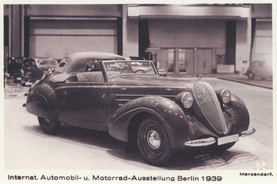 Berlin Motorshow 1939, Steyr 220 Gl%C3%A4ser Roadster