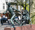 Berlin Savignyplatz Knabe mit Ziege August Kraus.jpg