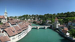 Aare - The Aare at Bern