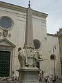 Berninis Rom - Obelisk på piazza Minerva.JPG