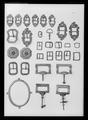 Beslag, bly o mässing - Livrustkammaren - 52245.tif