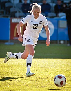 Betsy Hassett New Zealand association footballer