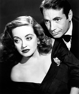 Bette Davis en Gary Merrill in All About Eve