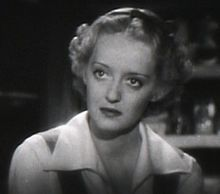 Bette Davis a The Petrified Forest el 1936