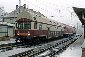 Bombardier Double-deck Coach - 1. Generation Doppelstockwagen in Calau