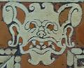 Biblioteca medicea laurenziana, pavimento mascherone 12.JPG