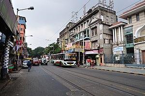 Ramakrishna Mission Swami Vivekananda's Ancestral House and Cultural Centre - Image: Bidhan Sarani Kolkata 2011 10 22 6262
