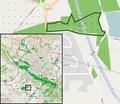 Bielefeld - NSG Schwarzes Venn - Map.png