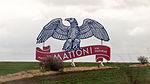 Big logo of Mattoni mineralwater as advertisment near D8, Czech Republic-6323.jpg