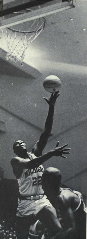 Bill Buntin - Buntin from 1965 Michiganensian