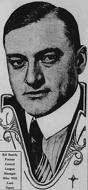 Bill Essick - Image: Bill Essick 1917