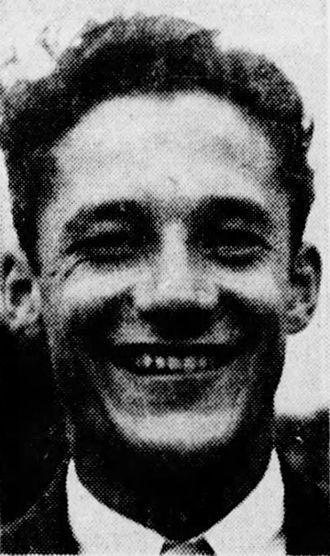 Bill Ezinicki - Ezinicki pictured c. 1946