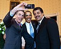 Bill Nye, Barack Obama and Neil deGrasse Tyson selfie 2014.jpg