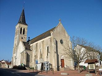 Billezois - The church