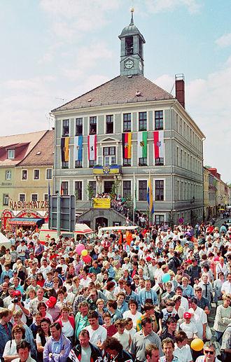 Bischofswerda - Image: Bischofswerda Schiebocktage Rathaus