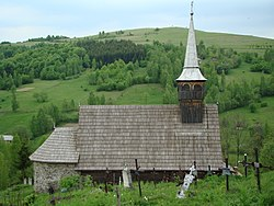 Wooden Orthodox church in Geogel village (1751)