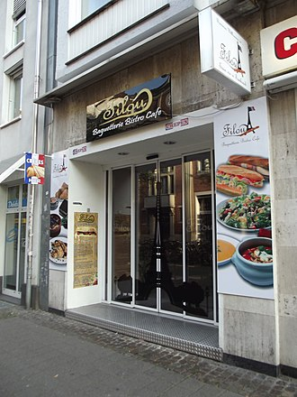 Bistro - French-styled bistro in Germany (Münster).
