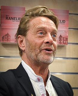 Björn Ranelid Swedish writer