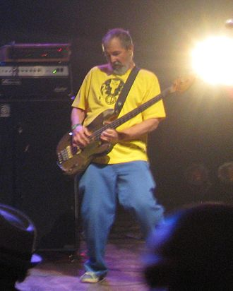 Chuck Dukowski - Dukowski performing with Keith Morris, Bill Stevenson, and Stephen Egerton as FLAG in 2011