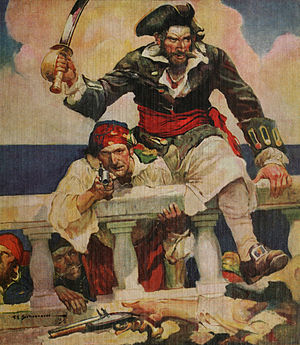 French and Raven's bases of power - Blackbeard the infamous pirate