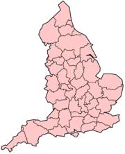 BlankMap-EnglandAdministrativeCounties1974