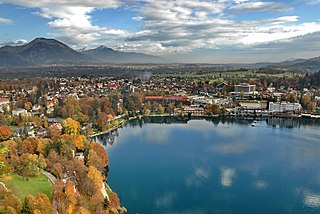 Bled Place in Upper Carniola, Slovenia