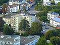 Blick vom Rheingrafenstein auf das Hotel Krone im Ortsteil Bad Münster am Stein - panoramio.jpg