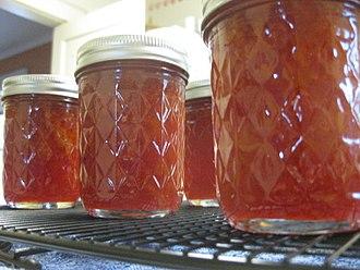 Blood orange - Image: Blood orange marmalade, January 2011