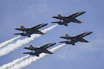 Blue Angels perform an aerial demonstration in Jacksonville Beach. (30206412704).jpg
