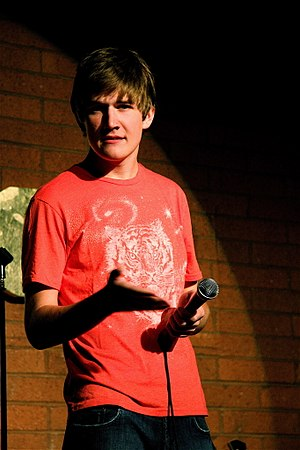 Bo Burnham - Burnham performing at The Improv in September 2008