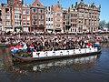 Boat 12 Leger, Marine, Landmacht boot, Canal Parade Amsterdam 2017 foto 3.JPG